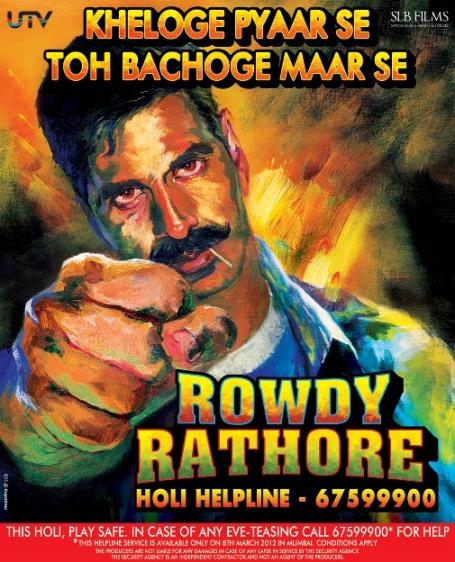 Rowdy Rathore launches the Holi Helpline