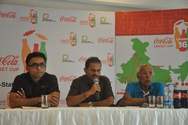 Coca-Cola U-16 Cricket Cup tournament,Inter State Leg, Mumbai !