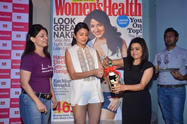 Anushka Sharma launches the inaugural issue of Women's Health magazine