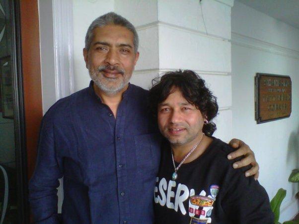 """Kailash Kher and Prakash Jha team up for """"Chakravyuh"""""""