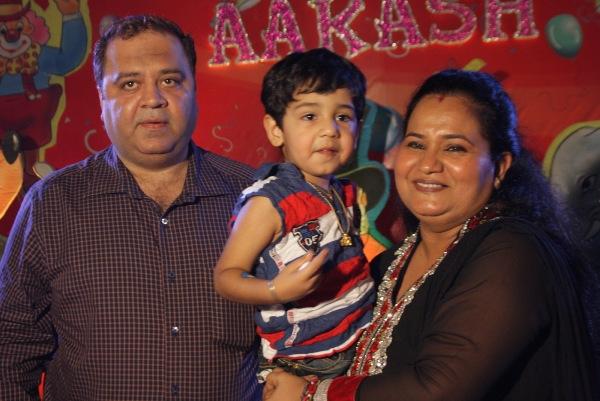Producer Kishor Dhingra birthday party for son Aakash Dhingra..