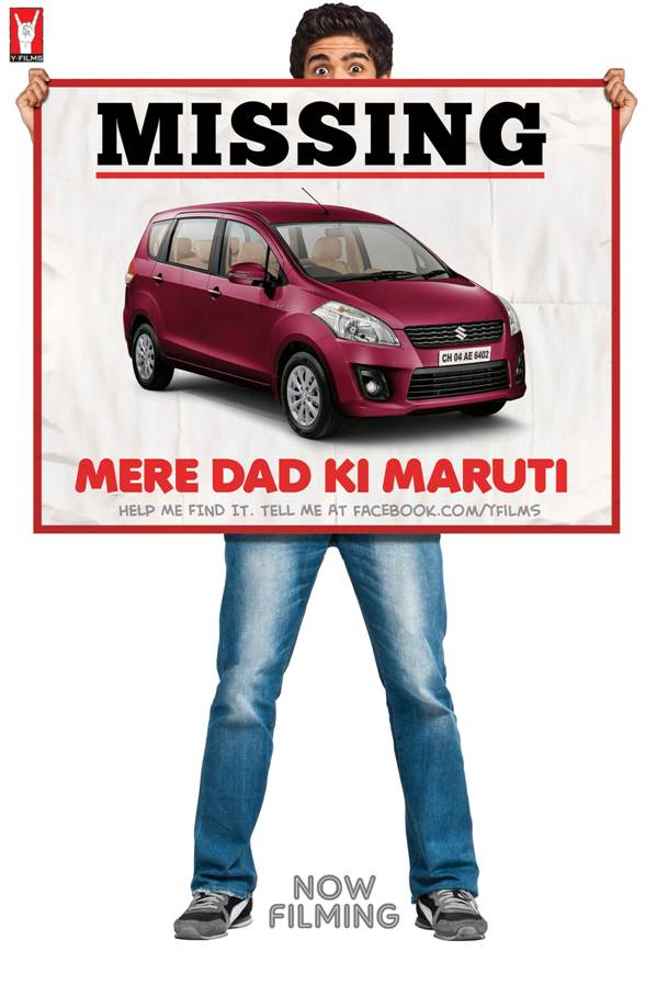 Y-FILMS' 3RD FILM 'MERE DAD KI MARUTI' HITS THE ROAD!
