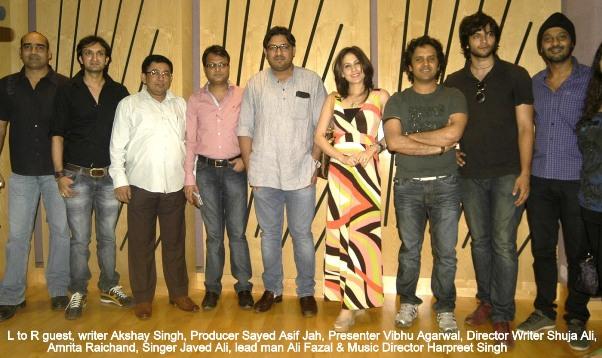 Singer Javed Ali sings for film BAAT BANN GAYI