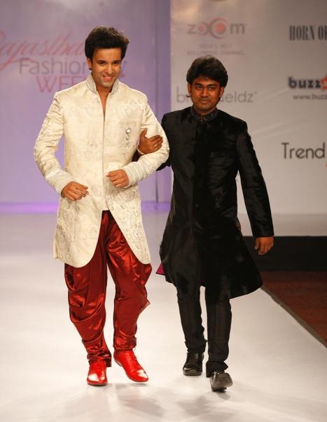 Sumitdas Gupta a rising fashion designer.