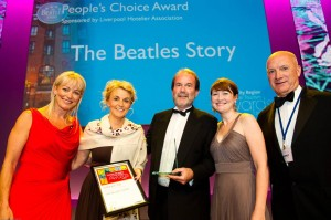 LIVERPOOL'S BEATLES STORY ATTRACTION SCOOPS PEOPLE'S CHOICE AWARD AT CITY'S ANNUAL TOURISM AWARDS