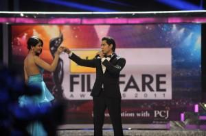 Ankita Shorey holds her own at the 57th Idea Filmfare Awards