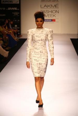 Aartivijay Gupta, Nikhil Thampi, Sidharta Aryan and Yogesh Chaudhary Presented a Variety of Looks at Lakmé Fashion Week Winter/Festive 2012