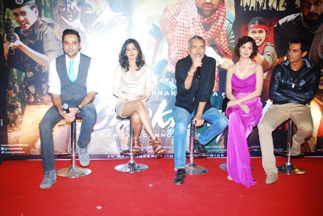 """Trailer launch of Prakash Jha's """"CHAKRAVYUH"""""""