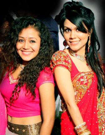 Singing sensations Kakkar Sisters-  Sonu Kakkar and Neha Kakkar