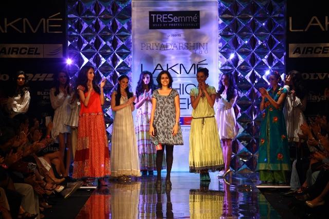 TRESemmé Presented the Trendy Very Urban Collection by Priyadarshini Rao at Lakmé Fashion Week Winter/Festive 2012