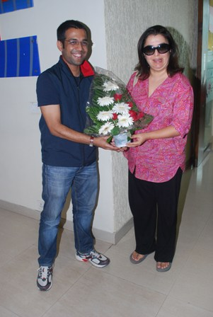 FARAH KHAN AND BELA BHANSALI SEHGAL WISH LISTENERS ON THE OCCASION OF NAVROZ AT 92.7 BIG FM