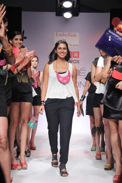 Sannam Chopra and Sandhya Garg Gave Fashion Diverse Directions at Usha Talent Box Lakmé during Fashion Week Winter/Festive 2012