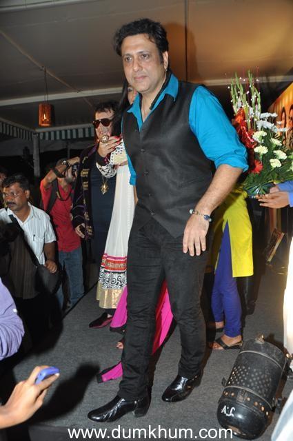 "Govinda Unveils music of the Dhumketu Punatar's film ""IT's ROCKING…DARD-E-DISCO"