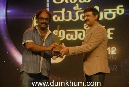 A STAR STUDDED CEREMONY CELEBRATES THE BIG KANNADA MUSIC AWARDS 2012