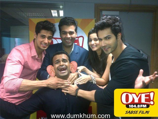 'I am scared of Salman Khan!'-Karan Johar reveals to Sid K on Oye 104.8 FM