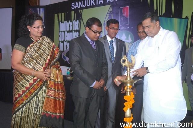 MLA Kripashankar Singh launches India's first 3D comic – Pruthvi