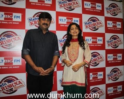 92.7 BIG FM BRINGS navratri TO A CLOSE with BIG CHEF RAKESH SETHI AND bollywood beauty, Juhi Chawla