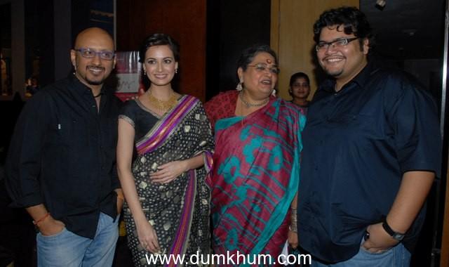 Dia, Shantanu at Paanch Adhyay music launch !