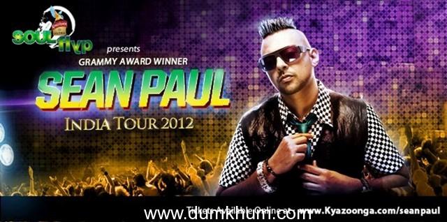 Kingfisher ULTRA SOUL Flyp presents Sean Paul; performance at Andheri Sports Complex, Mumbai