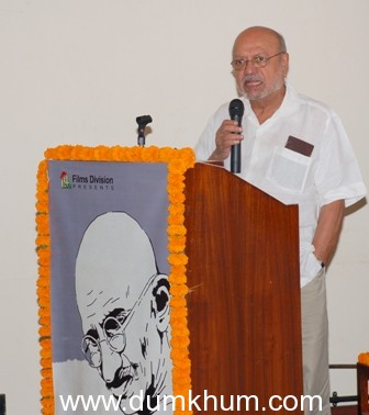 """""""BAAPU"""" – a festival of films and art Inaugurated by Shri Shyam Benegal !"""