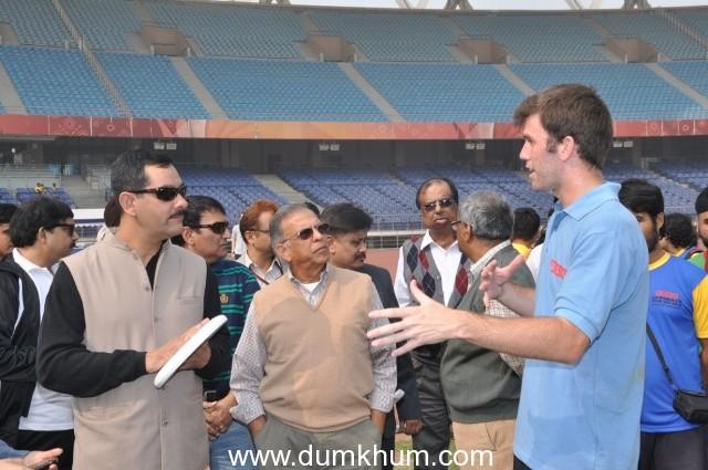 DELHI TEAMS ENTER SEMIS IN 'USHA ULTIMATE DELHI-GHT 2012 FRISBEE TOURNAMENT' AT JAWAHAR LAL NEHRU STADIUM