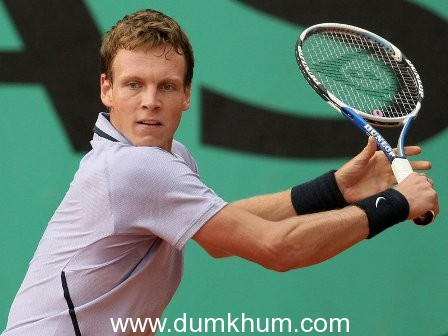 """I lived a dream when I won the 2012 Davis Cup for my country!""  World No.6 Berdych aims to play better and move higher up in 2013, starting with the Aircel Chennai Open"