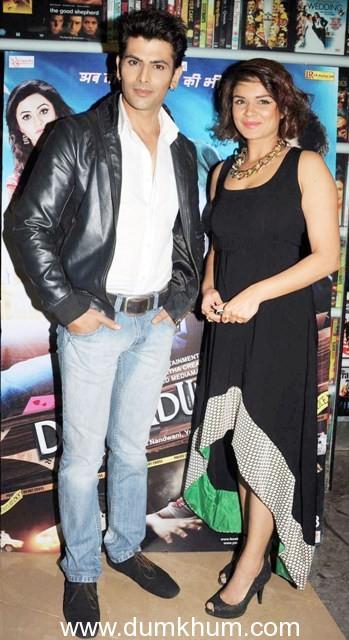 ROHIT BAKSHI AND AASHKA GORADIA AT 'DEHRADUN DIARY' PREMIERE