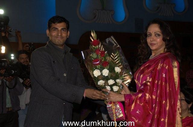 Hema Malini opened JIFF-2013 Jaipur