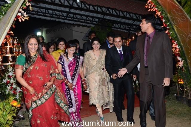 Sharmila Raj Thackeray attends MNS Youth leader Rajeev