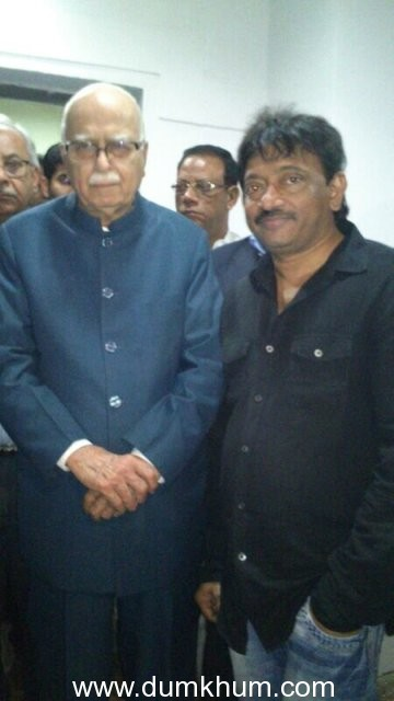 Ram Gopal Varma's The Attacks of 26/11 moves L K Advani to tears
