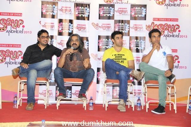 Mukesh Chabbra, Amit Sadh, Rajkumar Yadav at Wassup! Andheri