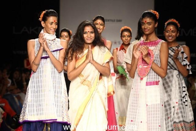 Designer Vaishali Shadangule works with 400 female weavers across Assam to present her new collection – 'Ru-Ba-Ru'