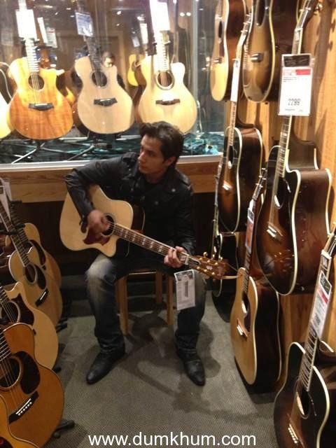 Ali Zafar reveals his weakness for guitars