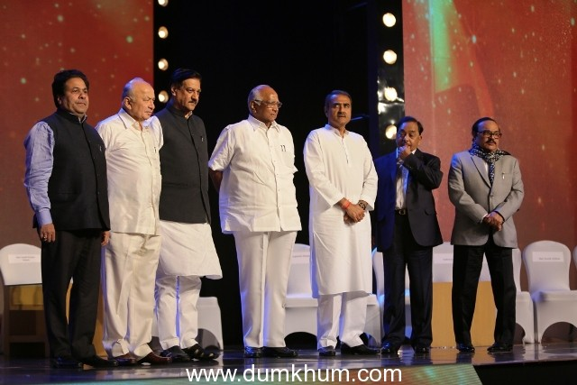 """Jai Maharashtra "" Channel Witnesses Grand Launch at A Starry Evening"