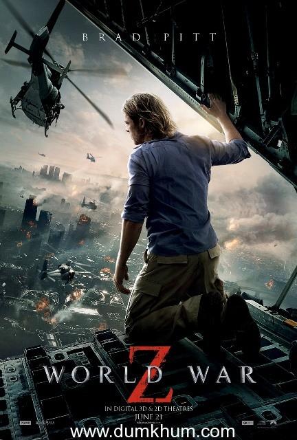 Brad Pitt starrer 'World War Z' trailer released