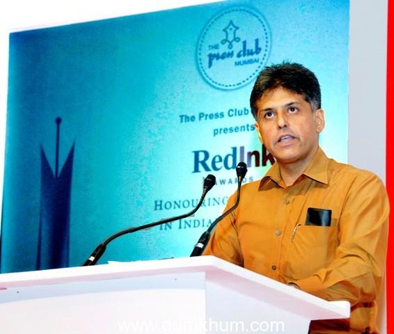 Make self regulation more inclusive and robust – Manish Tewari.