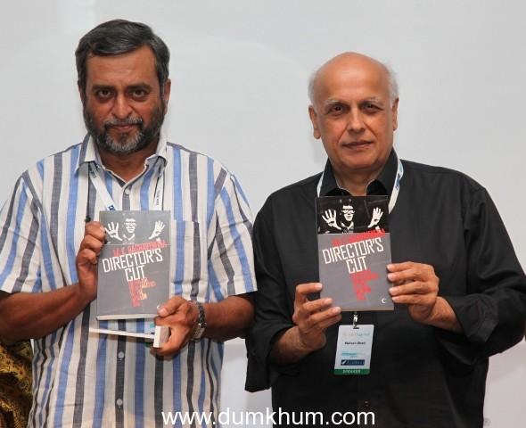 Inspiring book 'Directors Cut: 50 Major Filmmakers of the Modern Era'    launched at Asia's first ever India Non Fiction Festival