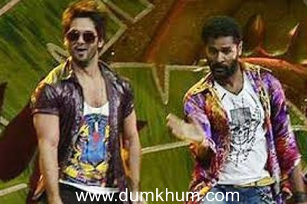 Prabhudheva and Shahid Kapoor to match steps onscreen for the very first time for Rambo Rajkumar.