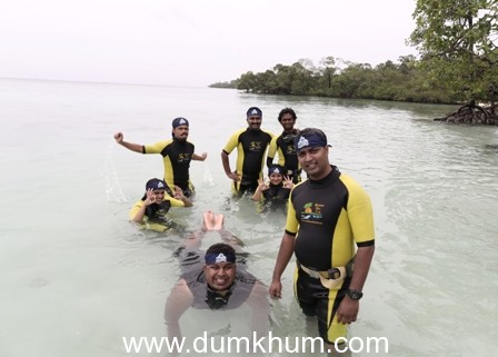 'Kingfisher Blue MILE – Andaman 2013' – where adventure met the 'Good Times'