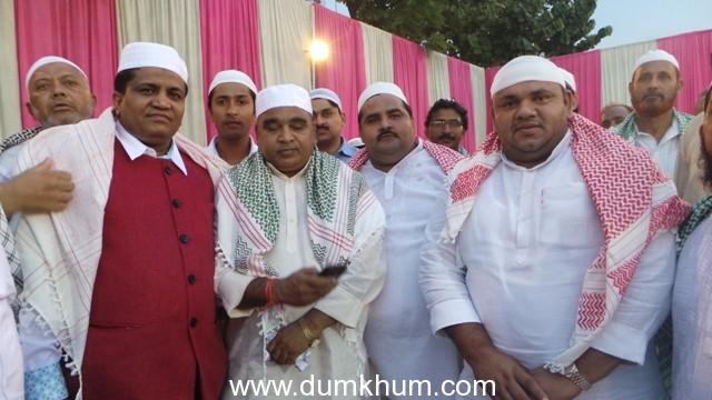 """""""Hindu Muslim Sarv Dharam Ekta Munch"""" dwara """"  ROJA IFTAR PARTY """""""