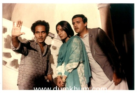 Ramesh Sippy was a parent on the sets of Buniyaad