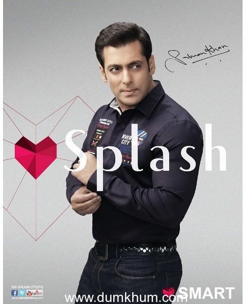 Salman Khan Loves Splash- GCC & MENA Campaign