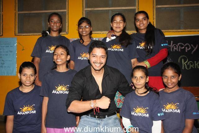 Shreyas Talpade Celebrates Raksha Bandhan with The Akansha Foundation kids