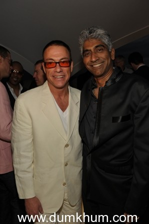 VAN DAMME in India to CELEBRATE THE GLOBAL LAUNCH OF   ASHOK AMRITRAJ BIOGRAPHY at CII BIG PICTURE SUMMIT