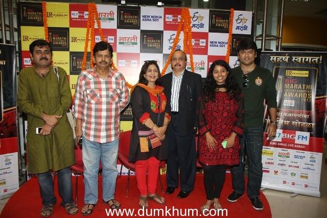 Jury Members Vinay Apte and Vandana Gupte announced the LR Active Oil BIG Marathi Entertainment Awards