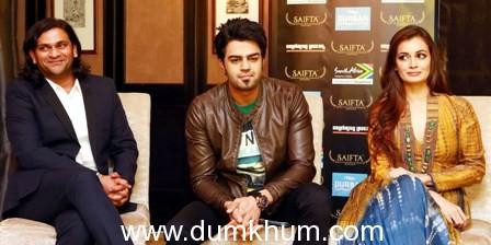 Ranveer Singh, Sidharth Malhotra, Dia Mirza & more at pre SAIFTA press conference in Durban !