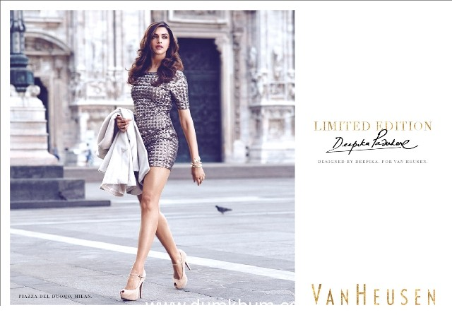 """""""A little something for all my girlfriends"""" Says Deepika on her collaboration with Van   Heusen"""