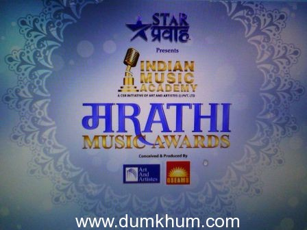 GSEAMS & Art And Artistes get together to do the first IMA Marathi Music Awards to be telecasted on Star Pravah Maharastra's No.1 Marathi Channel.