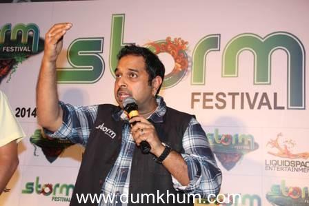Shankar Mahadevan all set to kick-up (a) Storm