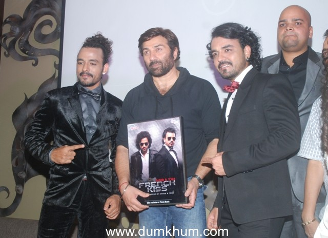 """Times music presents Sharib & Toshi's debut album """"French Kiss"""" launched by Bollywood Superstar Sunny Deol at Sun N Sand, Juhu, Mumbai."""
